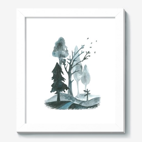 Картина «Дорогами осени»