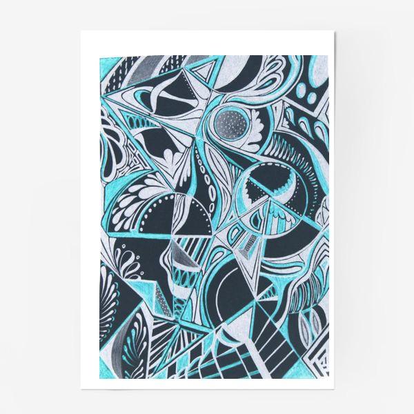 Постер «Абстракция »