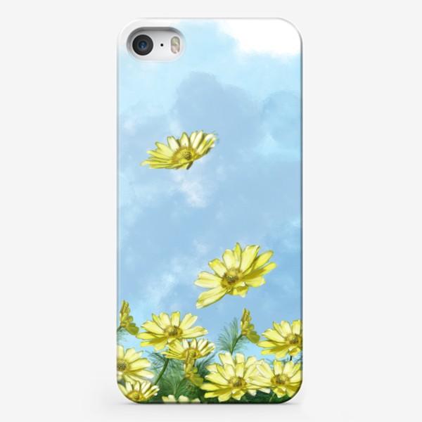 Чехол iPhone «Поле цветов »