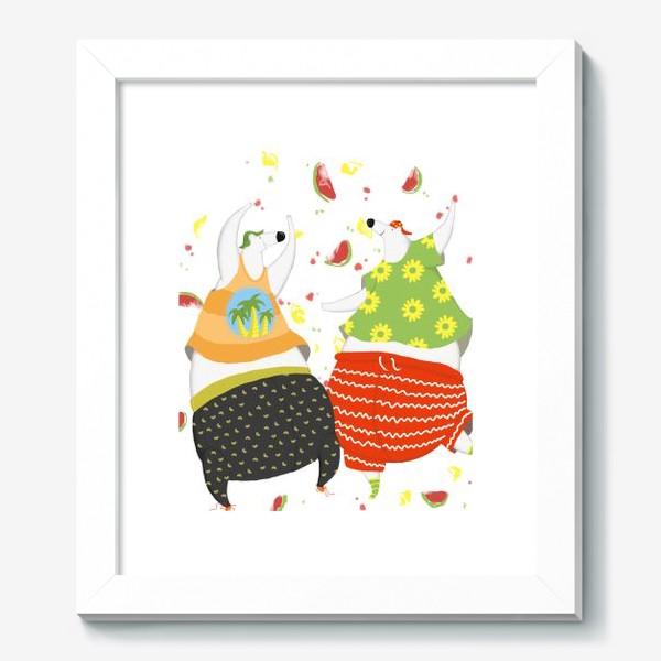 Картина «мишки танцуют»