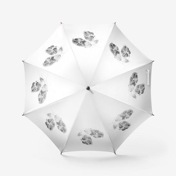 Зонт «Милые лапки собаки»