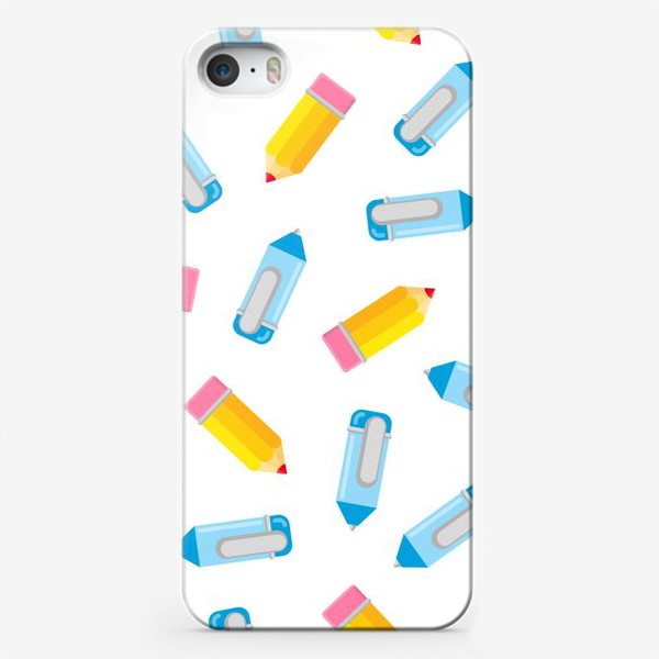 Чехол iPhone «Карандаши и ручки»