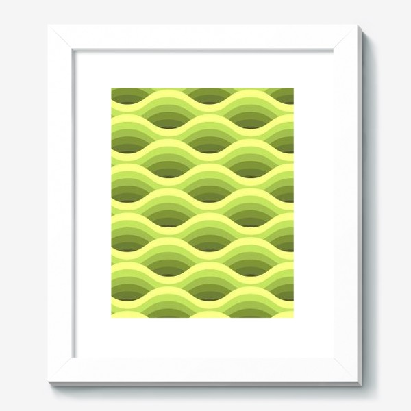 Картина «Зеленые волны»