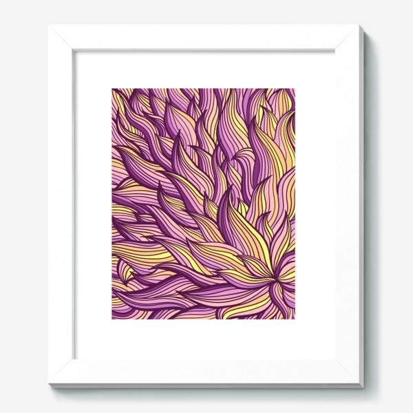 Картина «Растительный узор»
