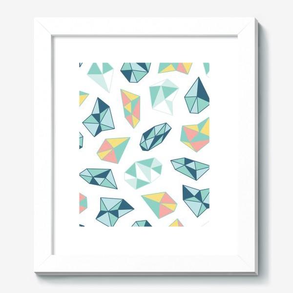Картина «Цветные кристаллы»
