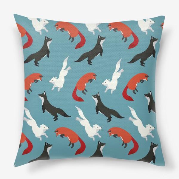 Подушка «Лисички-сестрички»