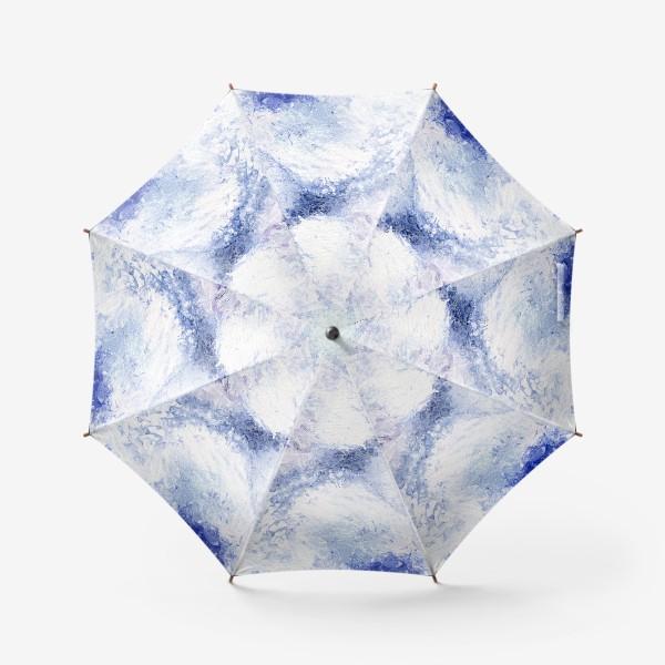 Зонт «Синяя нежность»