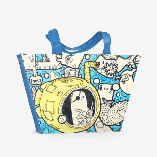 Пляжная сумка «Yellow Submarine»