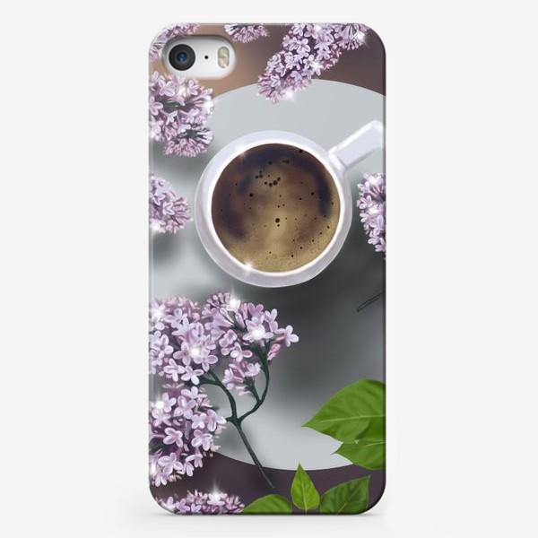 Чехол iPhone «Утренний кофе »
