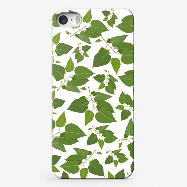 Чехол iPhone «Падающие листья »
