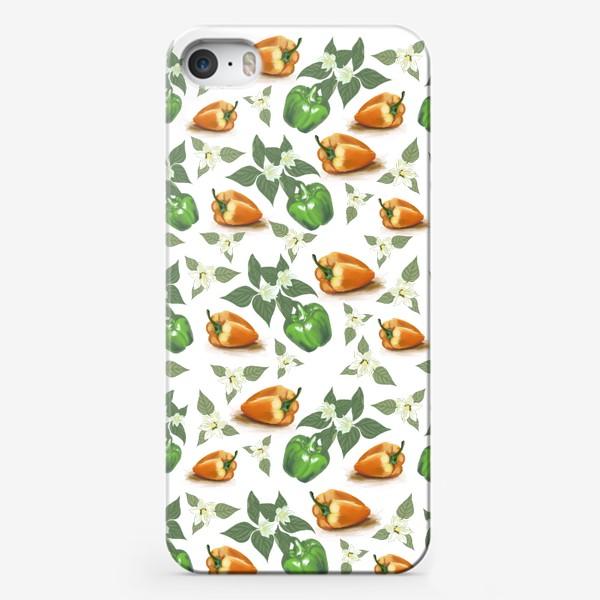 Чехол iPhone «Веселые перчики »
