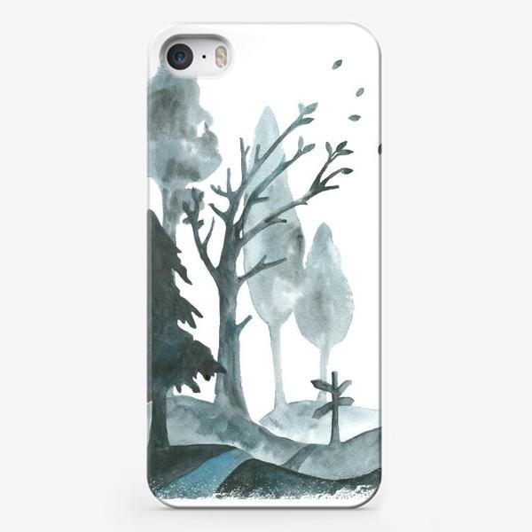 Чехол iPhone «Дорогами осени»