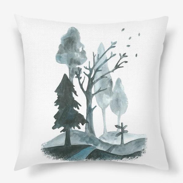 Подушка «Дорогами осени»