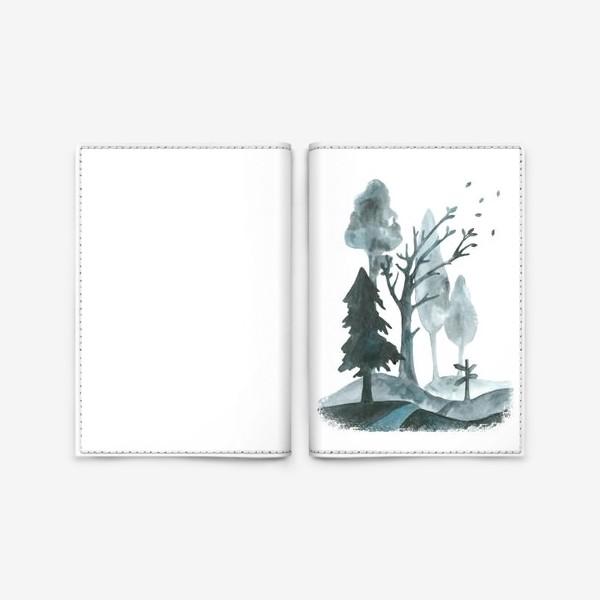 Обложка для паспорта «Дорогами осени»