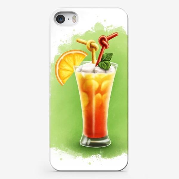 Чехол iPhone «Коктейль Текила Санрайз»