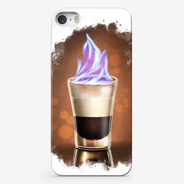 Чехол iPhone «Коктейль шот Б52»
