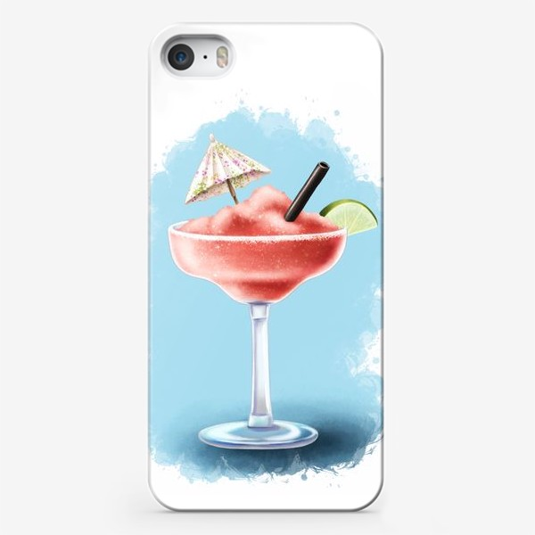 Чехол iPhone «Коктейль замороженная Маргаритта»