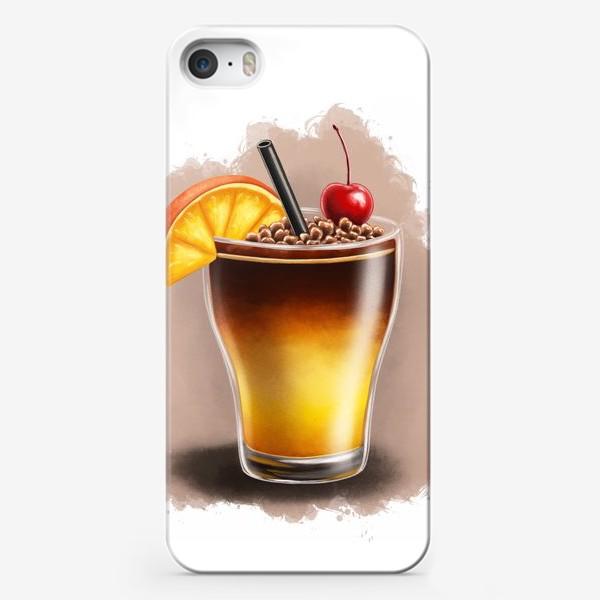 Чехол iPhone «Кофейный коктейль бамблби»