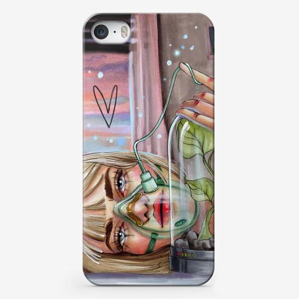 Чехол iPhone «Девушка из будущего»