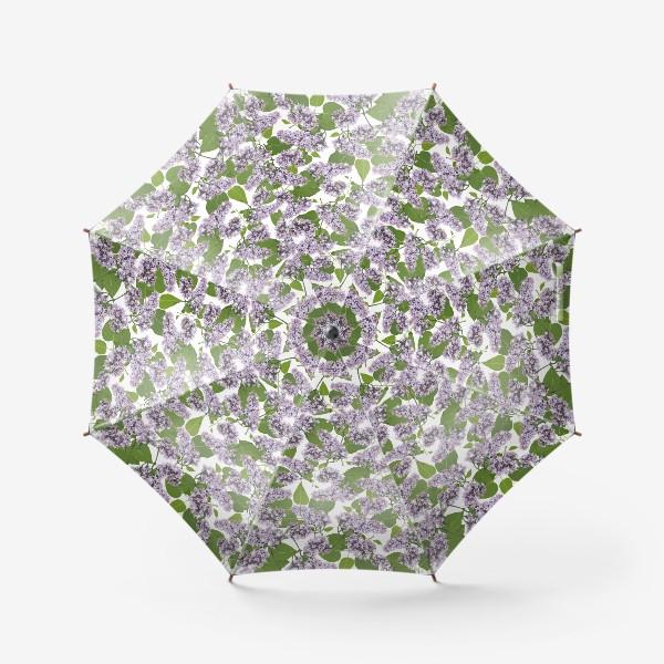 Зонт «Парящая сирень »