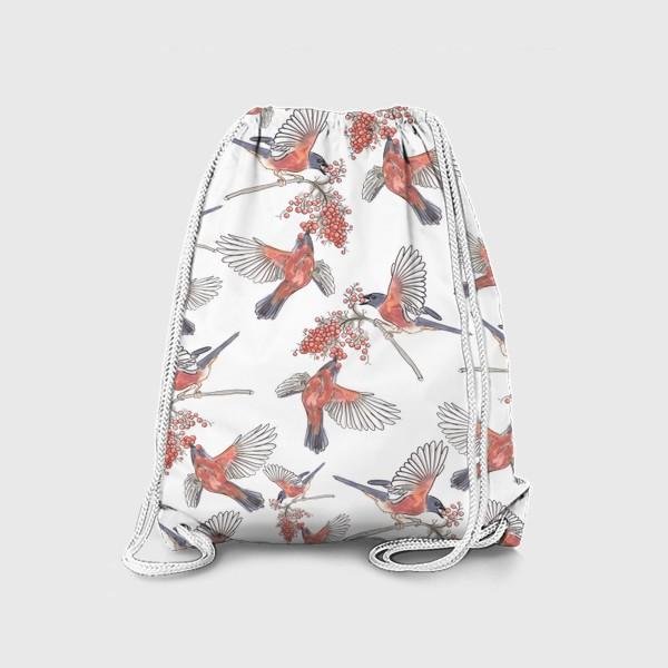 Рюкзак «Стая снегигей »