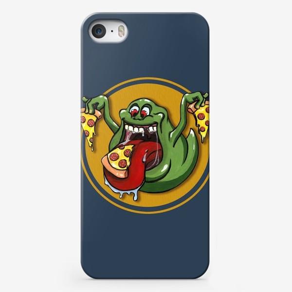 Чехол iPhone «Лизун и пицца»