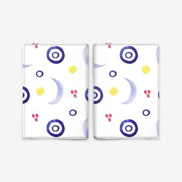 Обложка для паспорта «Акварельная абстракция»