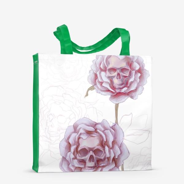 Сумка-шоппер «мертвые розы »