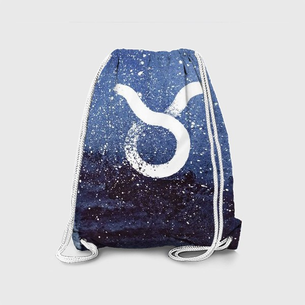 Рюкзак «Телец. Акварельный космос»
