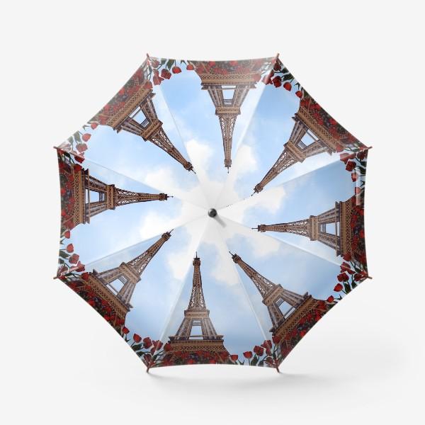 Зонт «Пейзаж с тюльпанами»