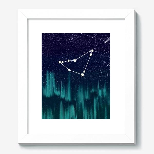 Картина «Зодиак Козерог. Северное сияние»