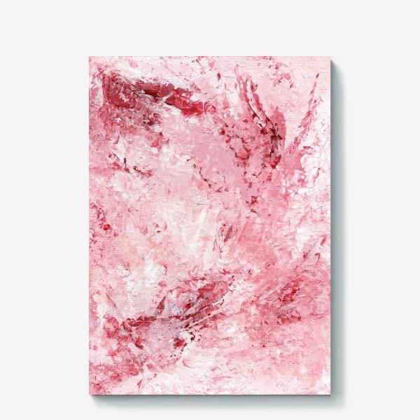 Холст «Нежность в розовом. Цвети!»