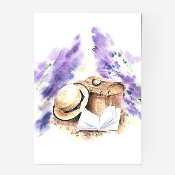 Постер «На лавандовых полях»