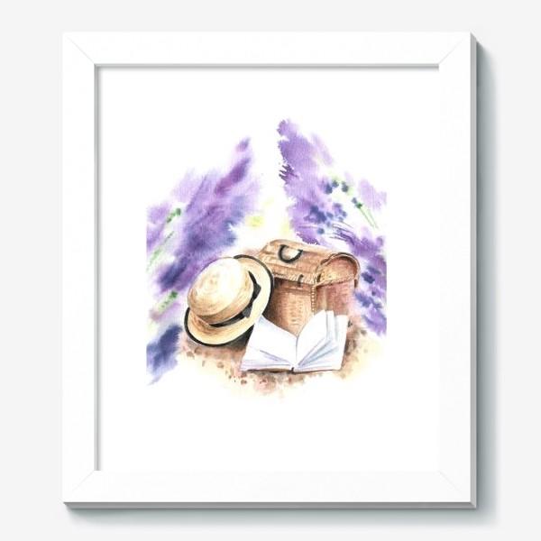 Картина «На лавандовых полях»