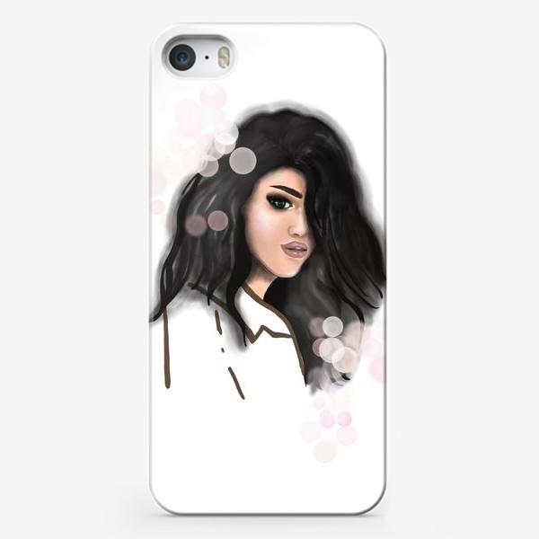 Чехол iPhone «Fashion girl. Девушка. Портрет»