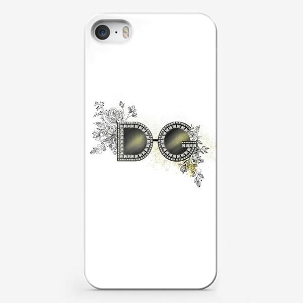 Чехол iPhone «Очки D&G»
