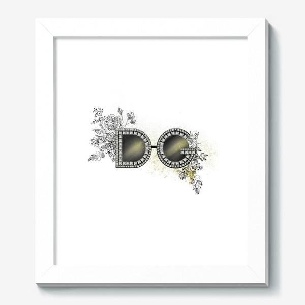 Картина «Очки D&G»