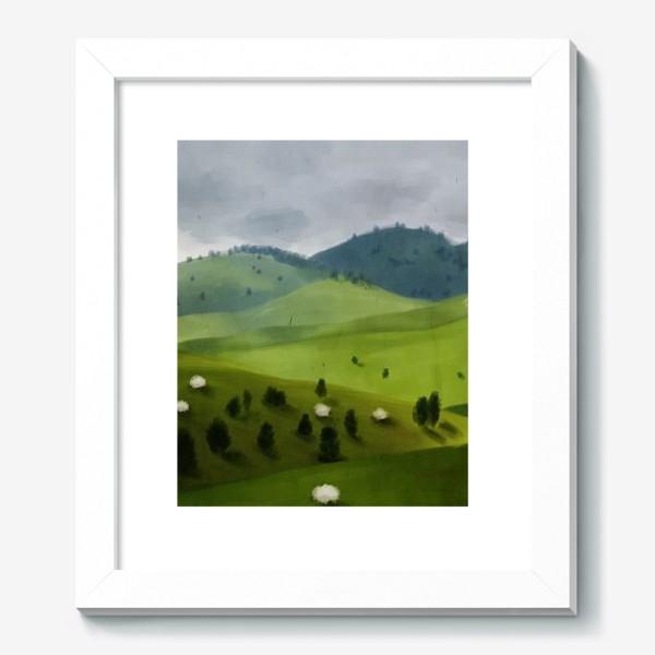 Картина «Пейзаж с овцами»