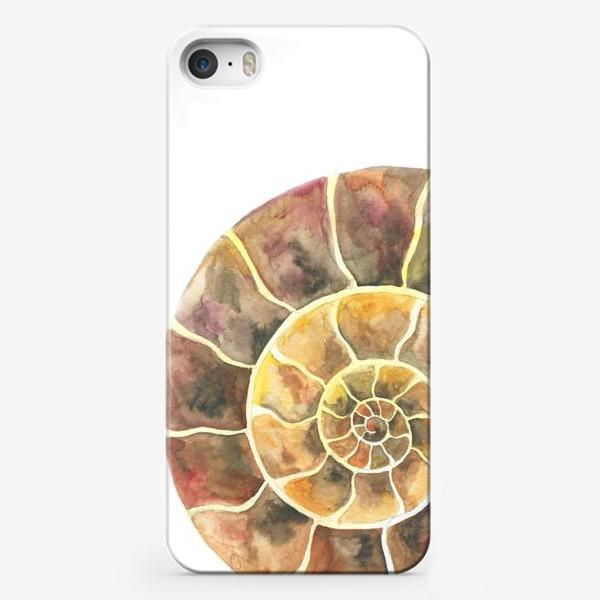 Чехол iPhone «Аммонит, доисторическая улитка»