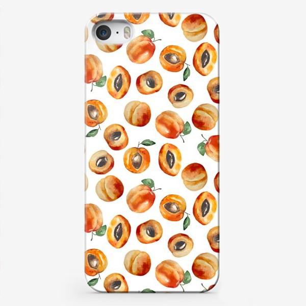 Чехол iPhone «Сладкие абрикосы коллаж»