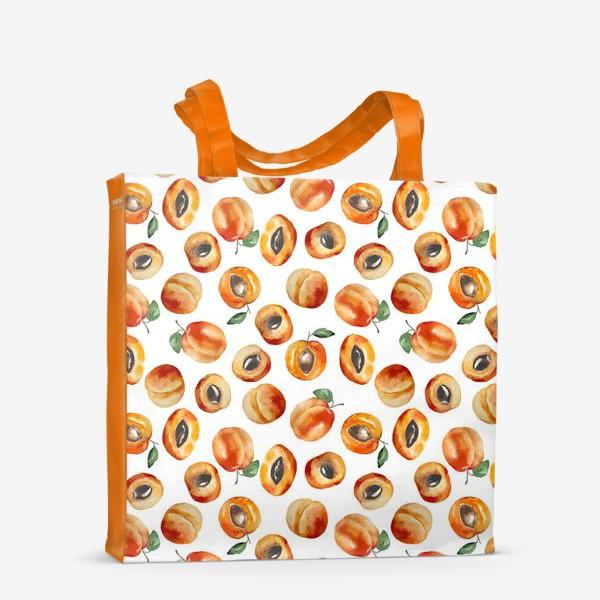 Сумка-шоппер «Сладкие абрикосы коллаж»