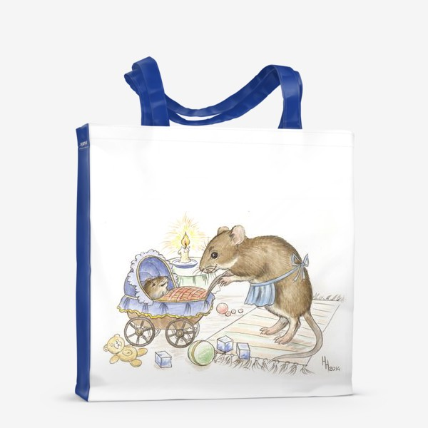 Сумка-шоппер «Мама мышь»
