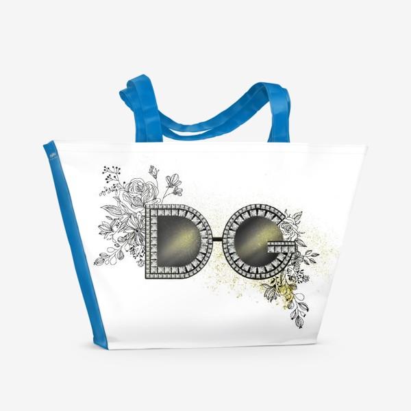 Пляжная сумка «Очки D&G»