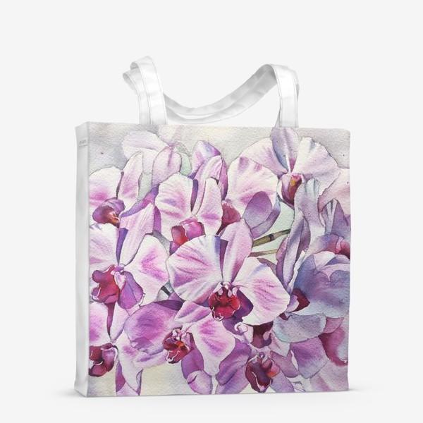 Сумка-шоппер «Орхидея Акварель»