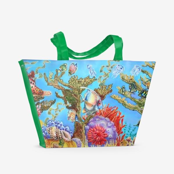 Пляжная сумка «Коралловый риф »