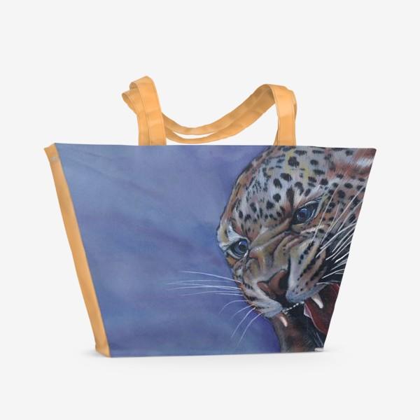 Пляжная сумка «Леопард »