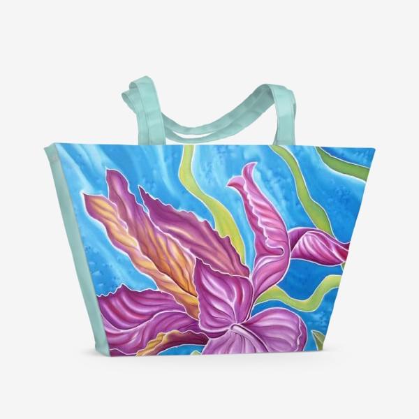 Пляжная сумка «Ирис »