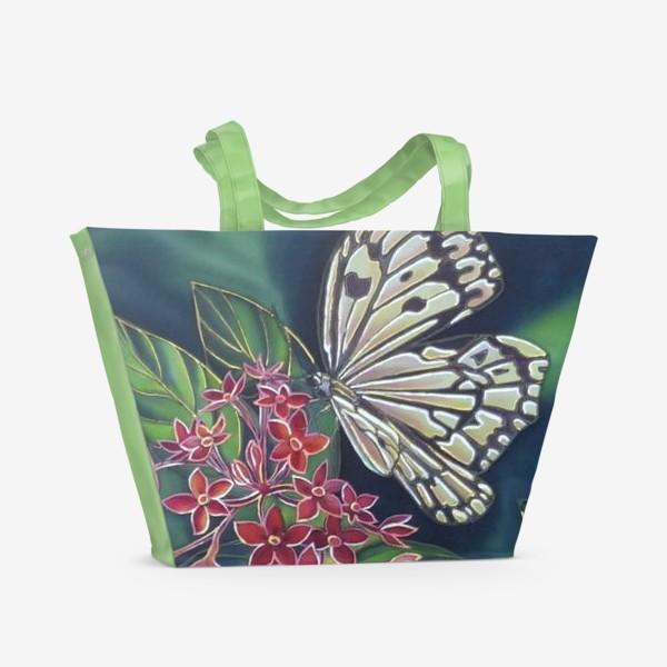 Пляжная сумка «Бабочка »