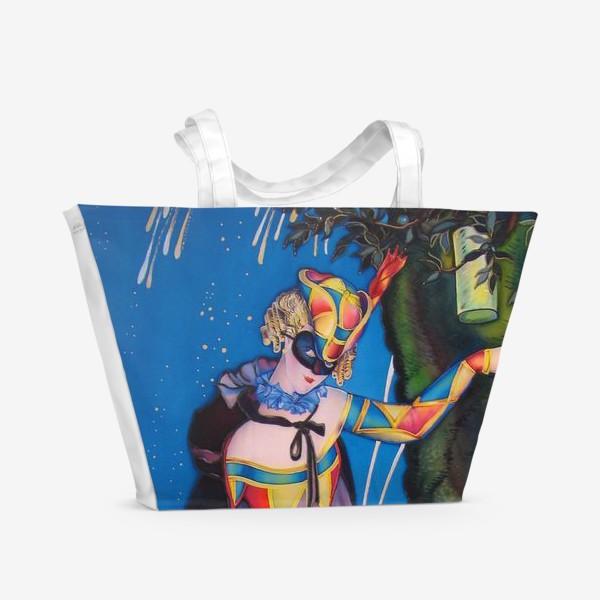 Пляжная сумка «Коломбина »