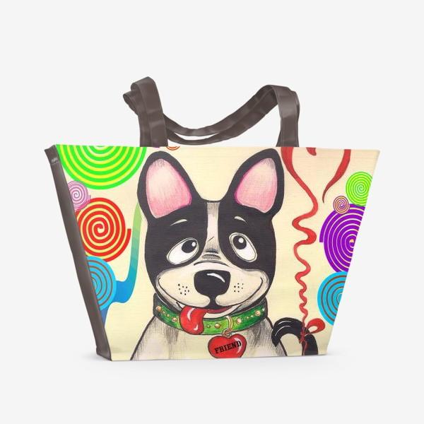 Пляжная сумка «Дружок»